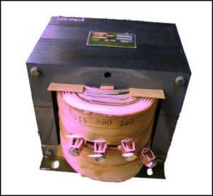 SINGLE PHASE MULTI TAP TRANSFORMER, 12 KVA, P/N 17790