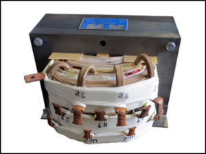 SINGLE PHASE MULTI TAP TRANSFORMER, 6 KVA, P/N 18093