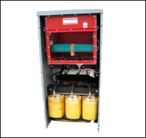Dry Type High Voltage Transformer 200 KVA, 3 PH Primary: 480 VAC, 240 Amps Secondary: 3750 VAC, 31 Amps Isolation: 5 KV P/N 18278