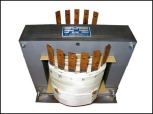SINGLE PHASE MULTI TAP TRANSFORMER, 5 KVA, P/N 18391
