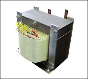 VARIABLE GAPPED INDUCTOR, 4.75 to 23 mH, 166 Amps, P/N 18520L