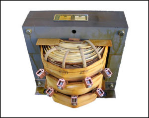 SINGLE PHASE MULTI TAP TRANSFORMER, 4.5 KVA, P/N 18535