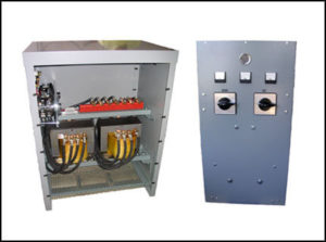 Scott T / Tap Switch Transformer 25 KVA, 3PH, 60 Hz, P/N 18568N