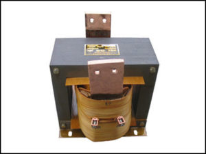 SINGLE PHASE HIGH CURRENT TRANSFORMER, 6 KVA, OUTPUT 10 VAC, 600 AMPS, P/N 18579