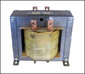 3 KV Isolation Transformer, 1.2 KVA, 1 PH, P/N 18593