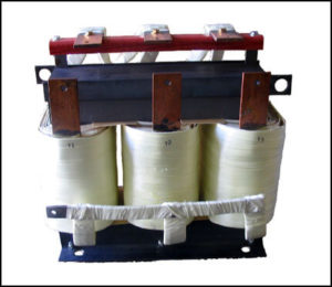 THREE PHASE HIGH CURRENT TRANSFORMER, 34 KVA, OUTPUT 24 VAC, 400 AMPS, P/N 18598