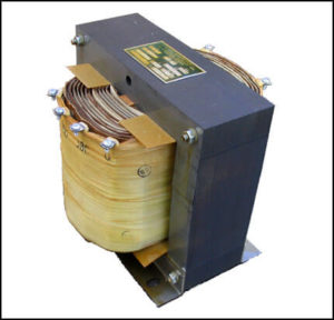 SINGLE PHASE MULTI TAP TRANSFORMER, 3 KVA, P/N 18599