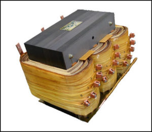 THREE PHASE MULTI TAP TRANSFORMER, 20 KVA, P/N 18600