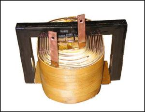 Ferrite Core Gapped Inductor, 35 mH, 50 Amps, 16 KHz, P/N 18675L