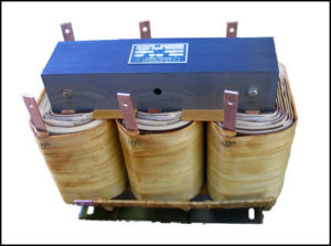 400 HZ THREE PHASE ISOLATION TRANSFORMER, 12 KVA, P/N 18700