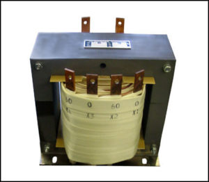 DUAL SECONDARY TRANSFORMER, 6 KVA, 1 PH, 60 HZ, P/N 18721