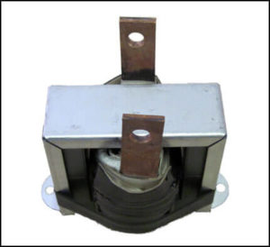 Ferrite Core Gapped Inductor, 50 uH, 130 Amps, 10 KHz, P/N 18752L
