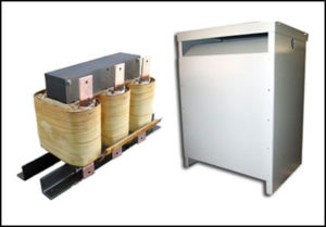ISOLATION TRANSFORMER, 36 KVA, 400 HZ, P/N 18752N