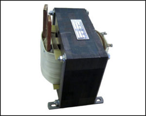 HIGH AMPERE TRANSFORMER, 1 KVA, Output: 5 VAC, 200 Amps P/N 18757
