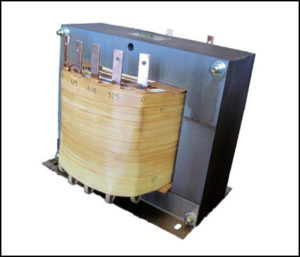 SINGLE PHASE MULTI TAP TRANSFORMER, 40 KVA, P/N 18767