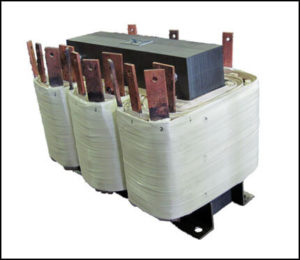 THREE PHASE MULTI TAP TRANSFORMER, 34 KVA, P/N 18774