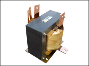 CENTER TAP TRANSFORMER, 4 KVA, PRIMARY 208 VAC, SECONDARY 5/10 VAC, P/N 18782