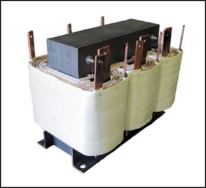 THREE PHASE MULTI TAP TRANSFORMER, 60 KVA, P/N 18787