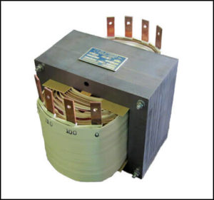 SINGLE PHASE MULTI TAP TRANSFORMER, 10 KVA, P/N 18790