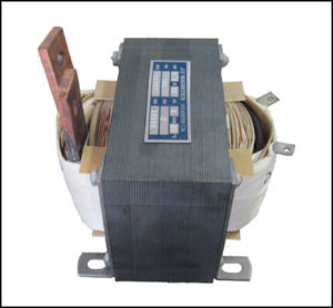 SINGLE PHASE HIGH CURRENT TRANSFORMER, 0.4 KVA, OUTPUT 2 VAC, 200 AMPS, P/N 18797