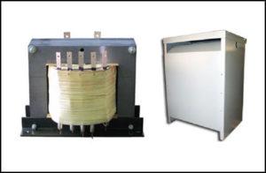 Secondary Multiple Tapped Transformer, 40 KVA, Input: 480 VAC, Output: 650/700/750/800 VAC, P/N 18803N