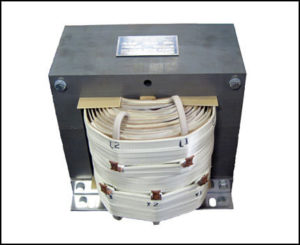 CENTER TAP TRANSFORMER, 7.5 KVA, PRIMARY 208 VAC, SECONDARY 0/120/240 VAC, P/N 18824A