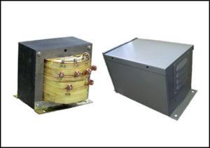 Multiple Tap Transformer, 7.5 KVA, Input: 208 VAC, Output: 230/240/260 VAC, P/N 18824N