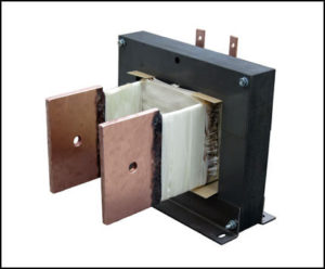 HIGH CURRENT TRANSFORMER, 1.2 KVA, Output: 1.15 VAC, 1000 AMPS, P/N 18834X