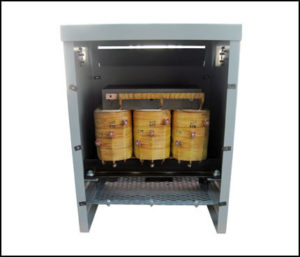 THREE PHASE MULTI TAP TRANSFORMER, 12 KVA, P/N 18852N