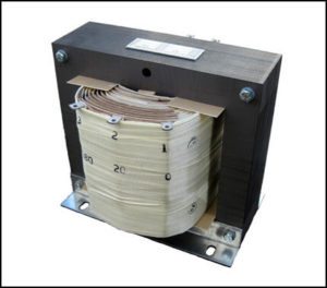 SINGLE PHASE MULTI TAP TRANSFORMER, 3 KVA, P/N 18859-2