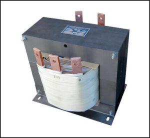 CENTER TAP TRANSFORMER, 15 KVA, PRIMARY 480 VAC, SECONDARY 120/240 VAC, P/N 18864