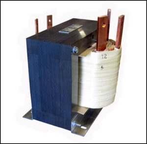 SINGLE PHASE MULTI TAP TRANSFORMER, 2.4 KVA, P/N 18876