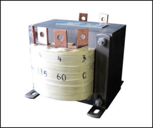 SINGLE PHASE MULTI TAP TRANSFORMER, 0.46 KVA, P/N 18882