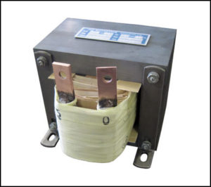 Single Phase Isolation Transformer, 0.6 KVA, 60 Hz, Primary: 120 VAC, Secondary: 5 VAC, P/N 18884