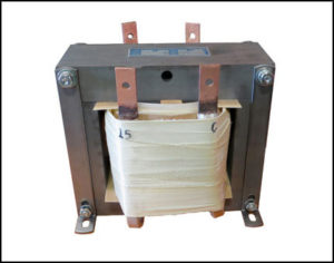 Single Phase Isolation Transformer, 1.8 KVA, 60 Hz, Primary: 120 VAC, Secondary: 15 VAC, P/N 18884A