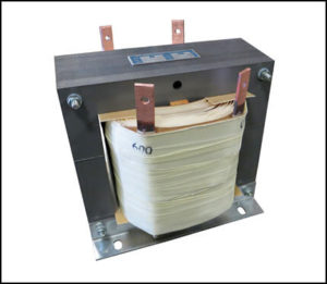 Single Phase Isolation Transformer, 6.0 KVA, 60 Hz, Primary: 208 VAC, Secondary: 600 VAC, P/N 18892