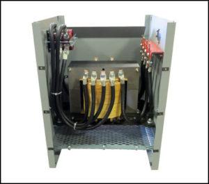Tap Switch Transformer 12 KVA, 1 PH, 60 Hz, P/N 18897TS
