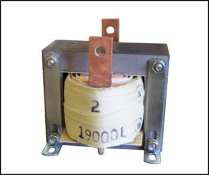 Gapped Inductor, 1.4 mH, 15 Amps RMS, P/N 19000L