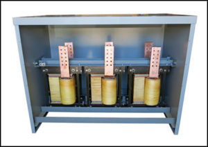 Current Limiting Reactor, 18.57 uH, 4000 Amps Continuous, P/N 19016CLR
