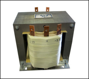SINGLE PHASE MULTI TAP TRANSFORMER, 7.5 KVA, P/N 19036