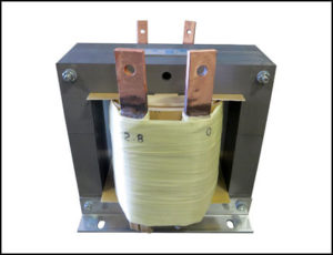 SINGLE PHASE HIGH CURRENT TRANSFORMER, 0.75 KVA, OUTPUT 2.8 KVA, 265 AMPS, P/N 19037