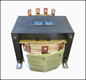 DUAL SECONDARY TRANSFORMER, 3 KVA, 1 PH, 60 HZ, P/N 19046