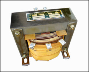 Multi Tap Transformer 0.15 KVA, Input: 480 VAC, Output: 24/30 VAC, P/N 19048