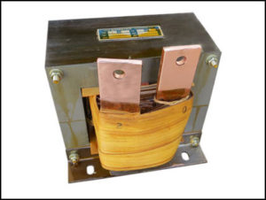 HIGH CURRENT TRANSFORMER, 1 KVA, Output: 2 VAC, 500 AMPS, P/N 19049