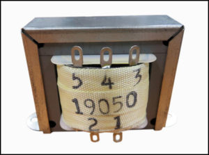 ISOLATION TRANSFORMER, 108 VA, 400 Hz, P/N 19050
