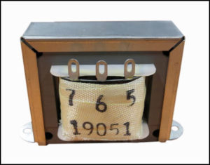 ISOLATION TRANSFORMER, 42 VA, 400 Hz, P/N 19051