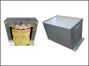 Single Phase Isolation Transformer, 6.0 KVA, 60 Hz, Primary: 120 VAC, Secondary: 120 VAC, P/N 19061N