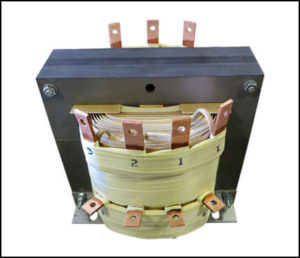 SINGLE PHASE MULTI TAP TRANSFORMER, 4 KVA, P/N 19065