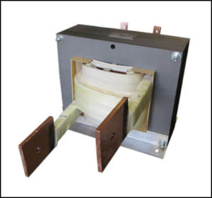 HIGH CURRENT TRANSFORMER, 30 KVA, Output: 15 VAC, 2000 AMPS, P/N 19070