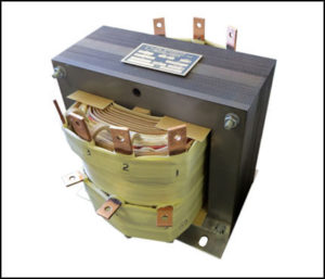 SINGLE PHASE MULTI TAP TRANSFORMER, 4 KVA, P/N 19071
